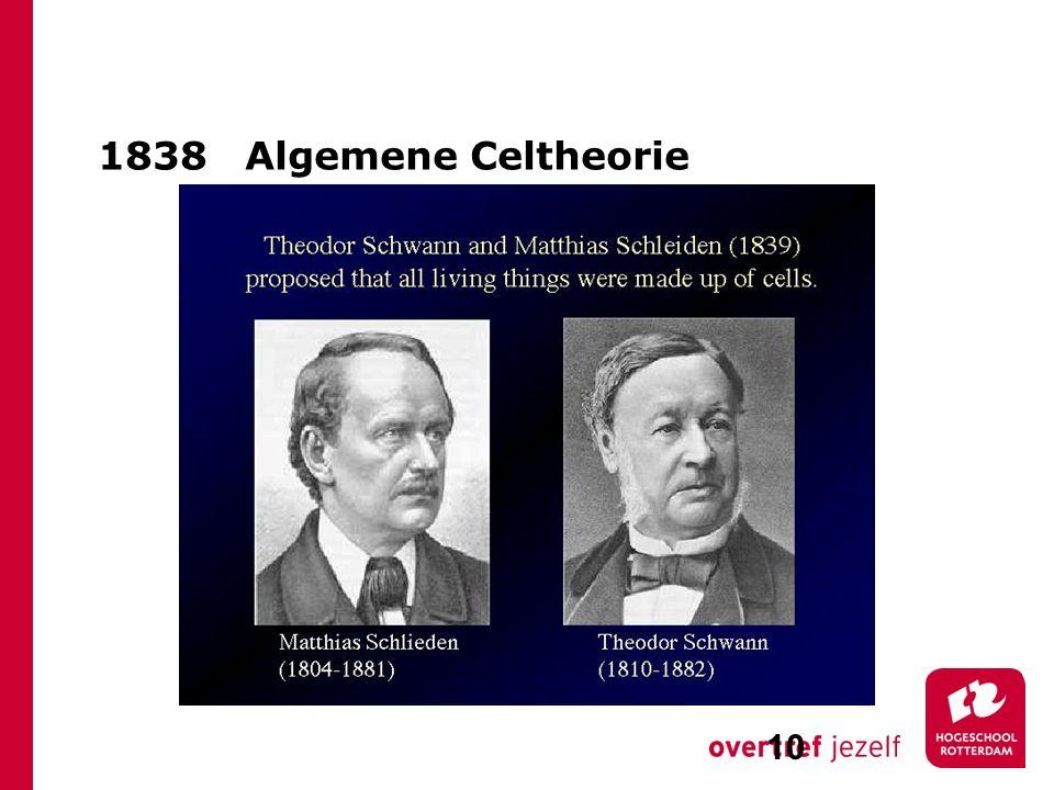 1838 Algemene Celtheorie