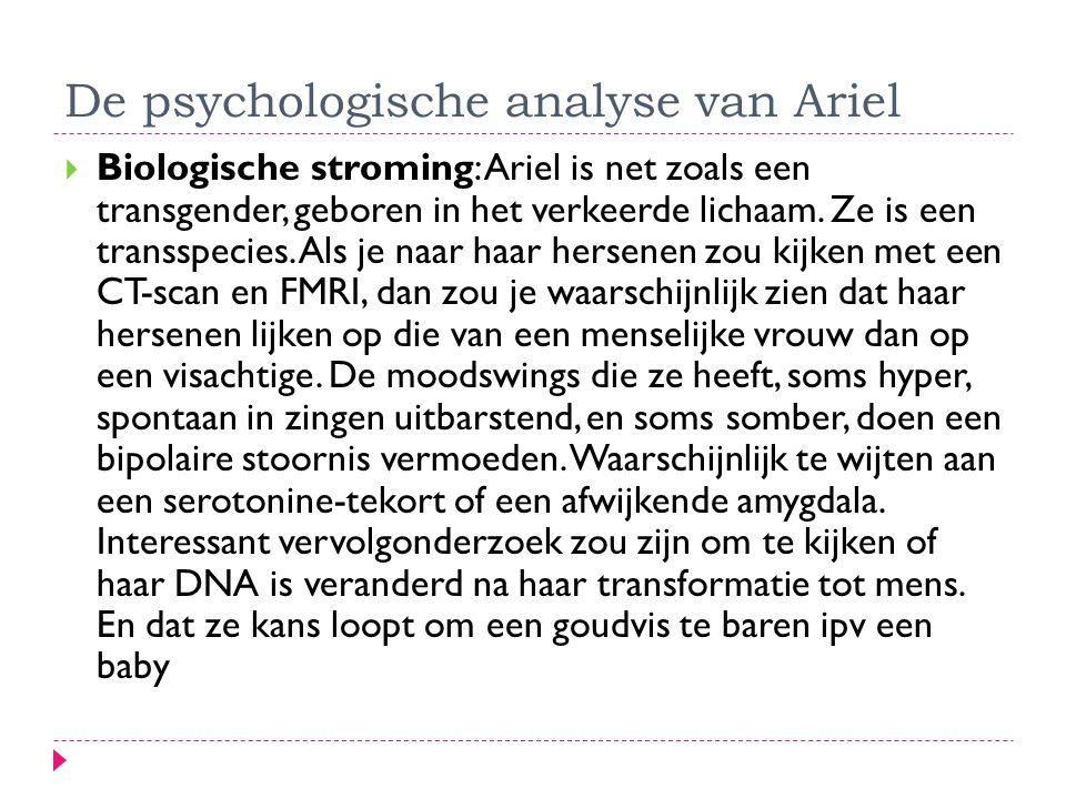De psychologische analyse van Ariel