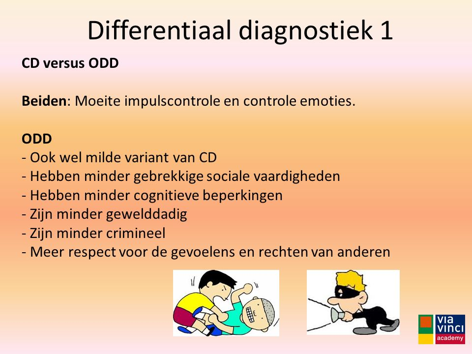 Differentiaal diagnostiek 1