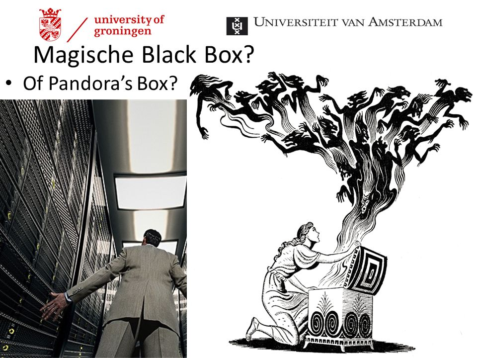 Magische Black Box Of Pandora's Box