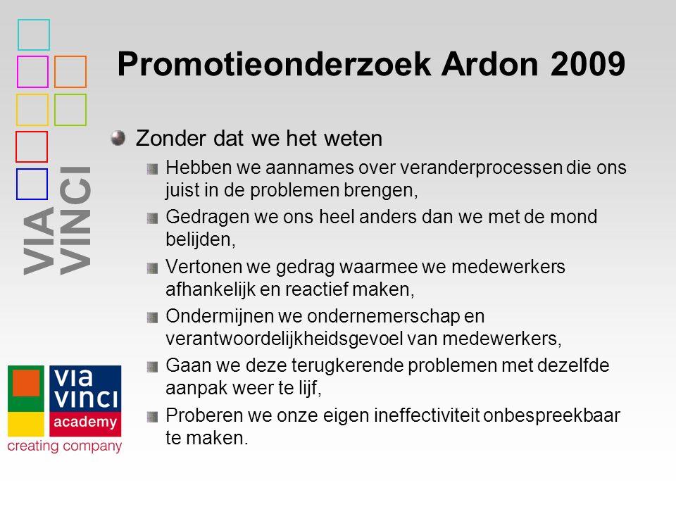 Promotieonderzoek Ardon 2009