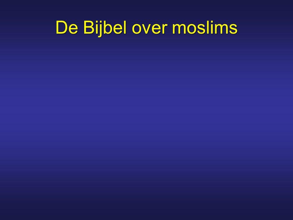 De Bijbel over moslims