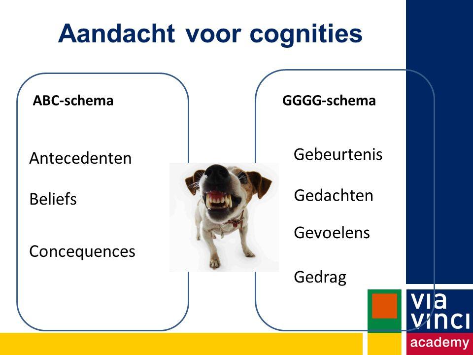 Aandacht voor cognities