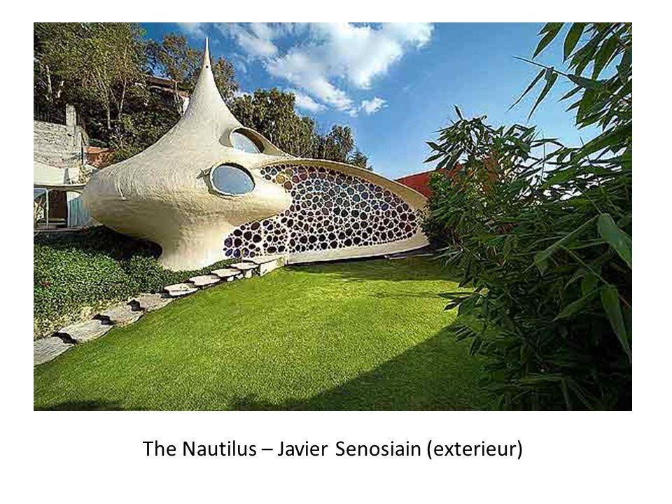 The Nautilus – Javier Senosiain (exterieur)
