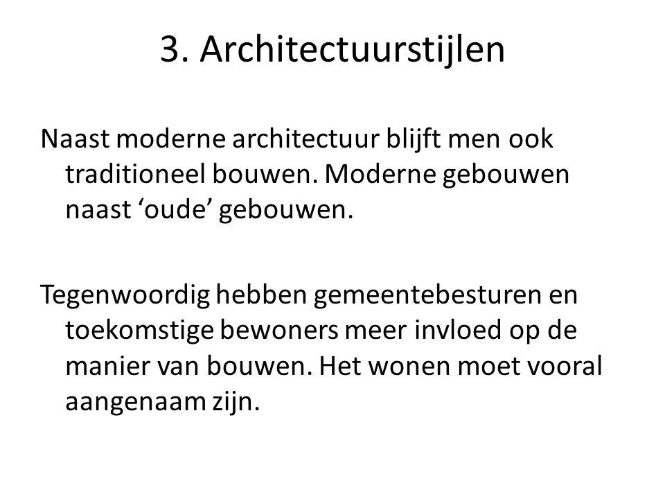 3. Architectuurstijlen