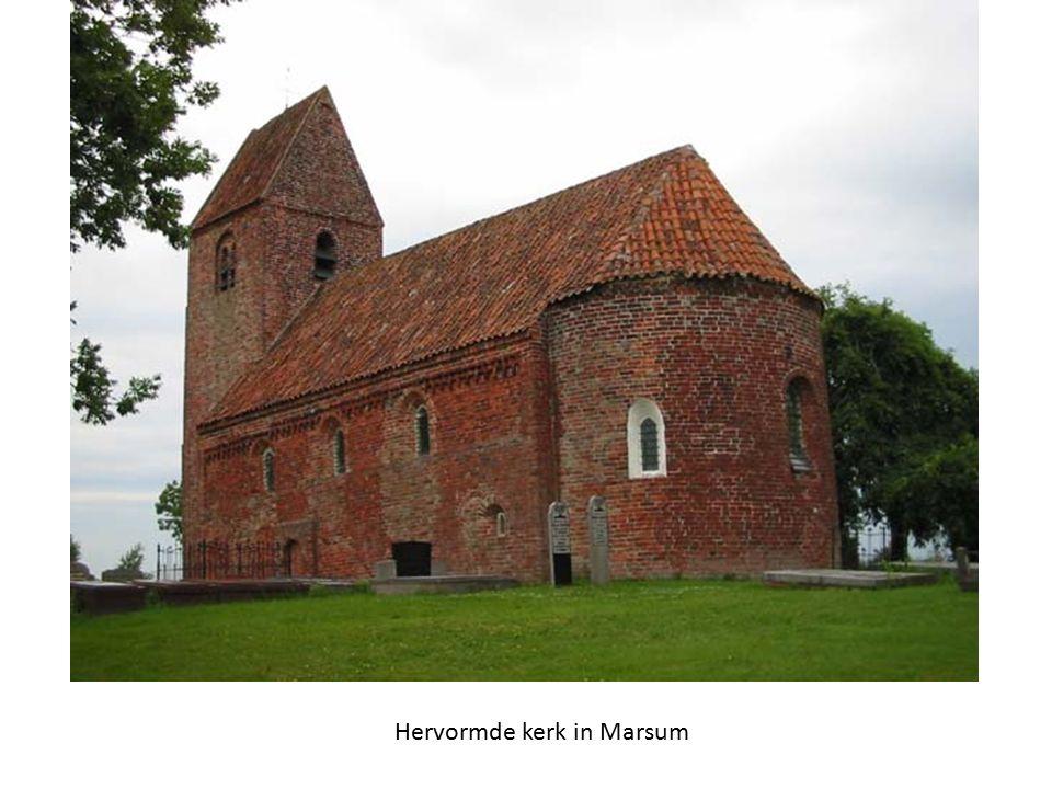 Hervormde kerk in Marsum