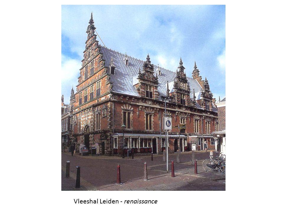 Vleeshal Leiden - renaissance