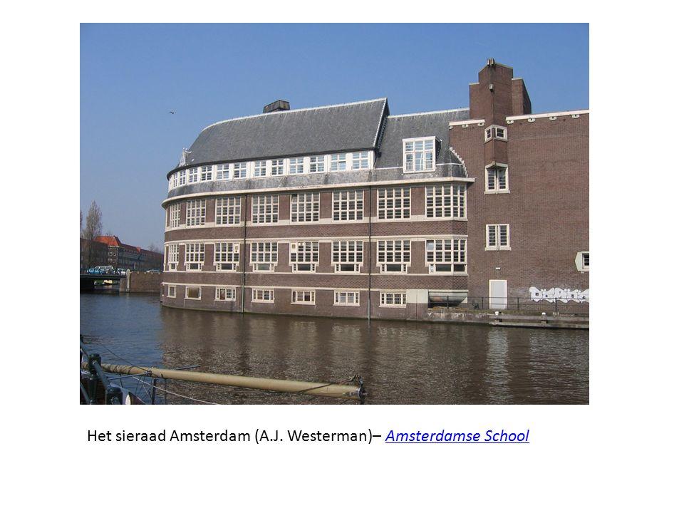 Het sieraad Amsterdam (A.J. Westerman)– Amsterdamse School