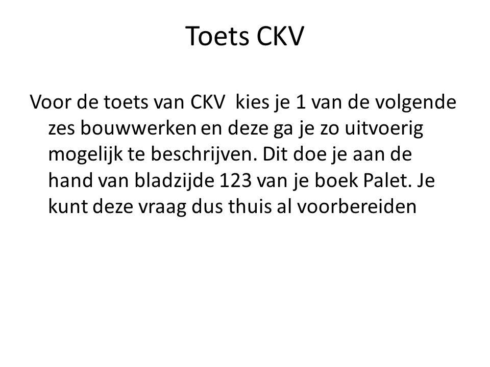Toets CKV