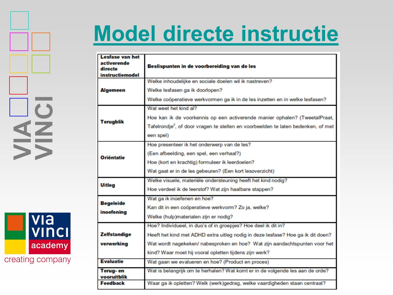 Model directe instructie