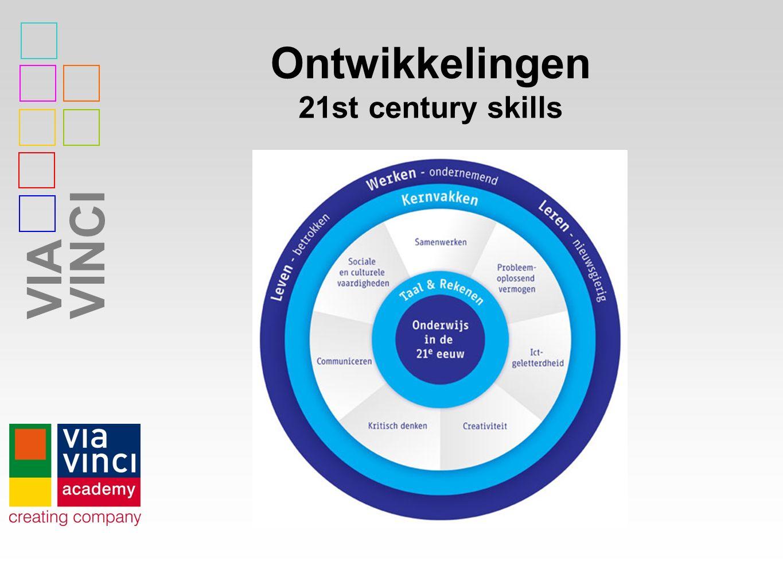 Ontwikkelingen 21st century skills