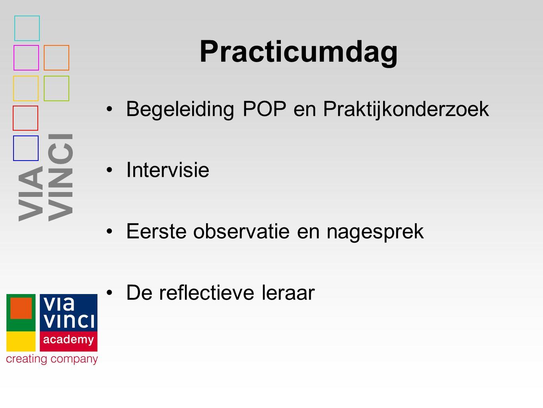 Practicumdag Begeleiding POP en Praktijkonderzoek Intervisie