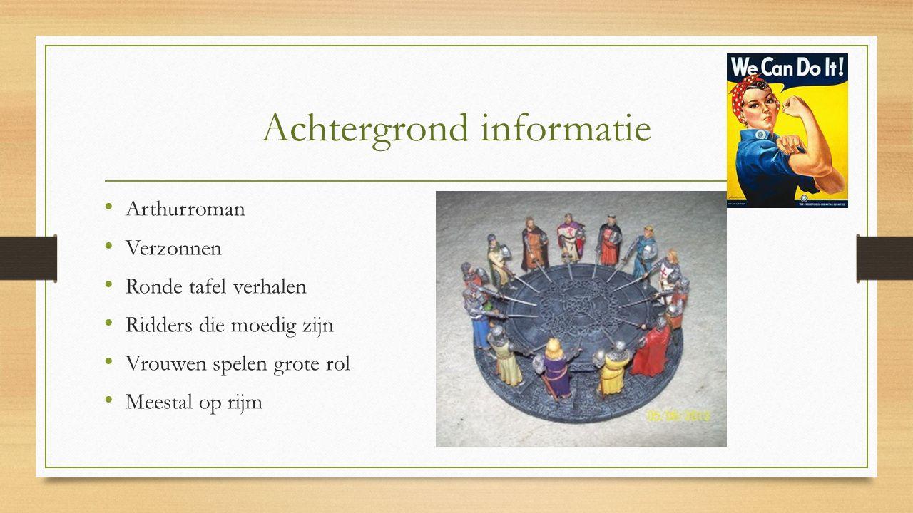 Achtergrond informatie