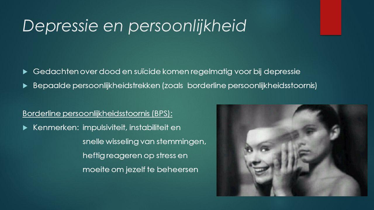 Depressie en persoonlijkheid