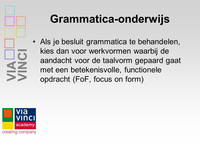 Grammatica-onderwijs