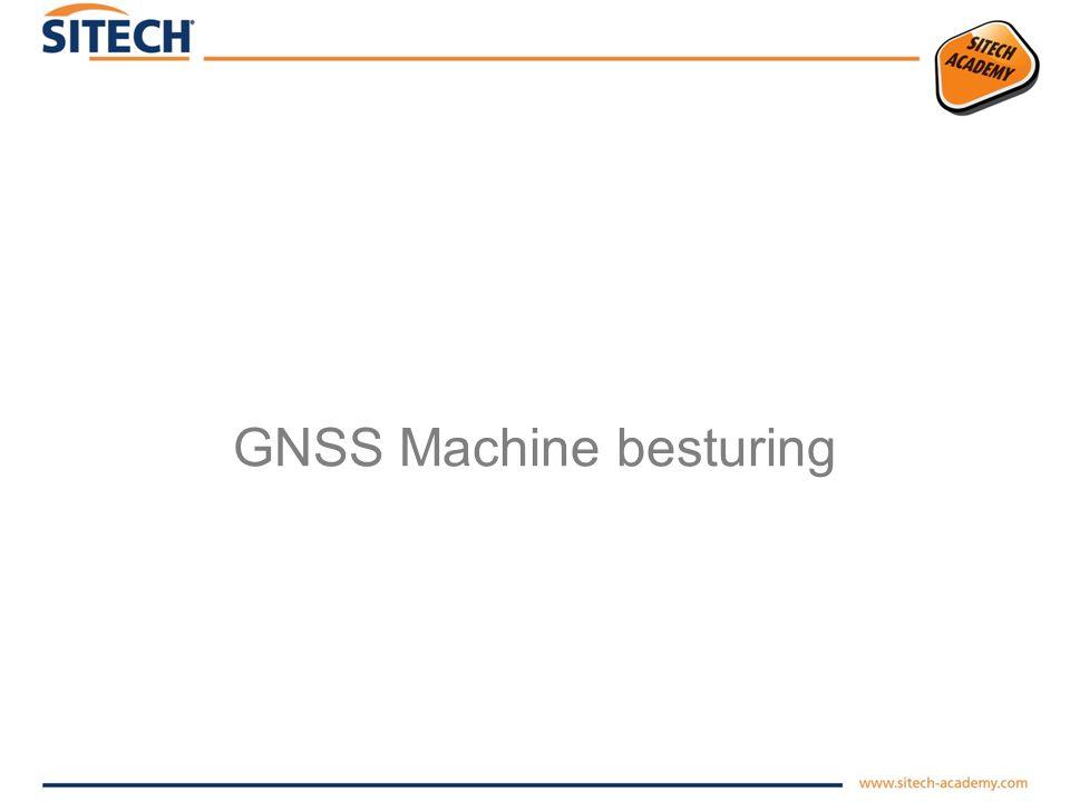GNSS Machine besturing