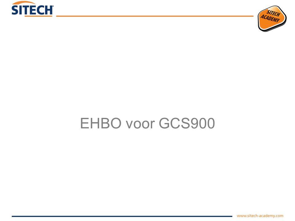 EHBO voor GCS900