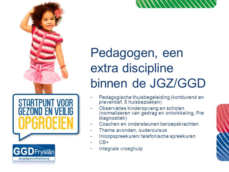 Pedagogen, een extra discipline binnen de JGZ/GGD