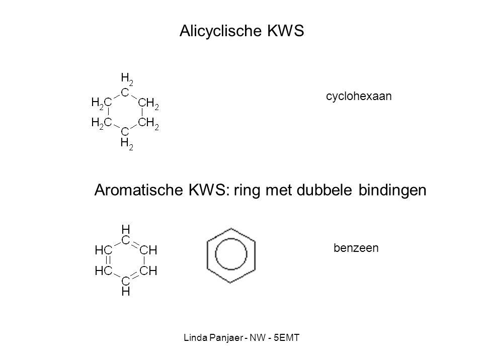 Aromatische KWS: ring met dubbele bindingen
