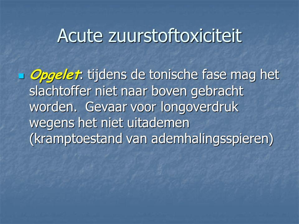 Acute zuurstoftoxiciteit