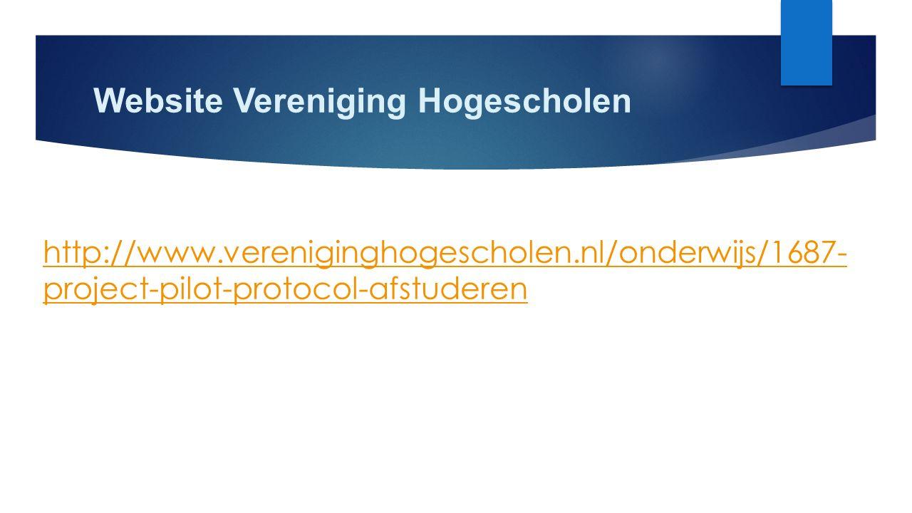 Website Vereniging Hogescholen