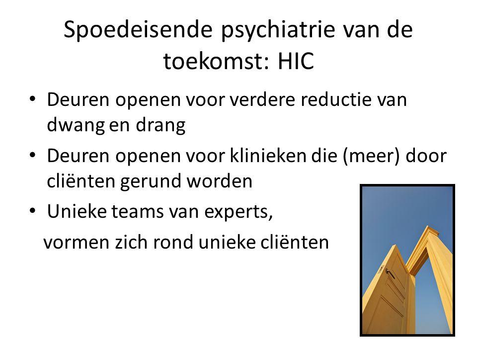 Spoedeisende psychiatrie van de toekomst: HIC