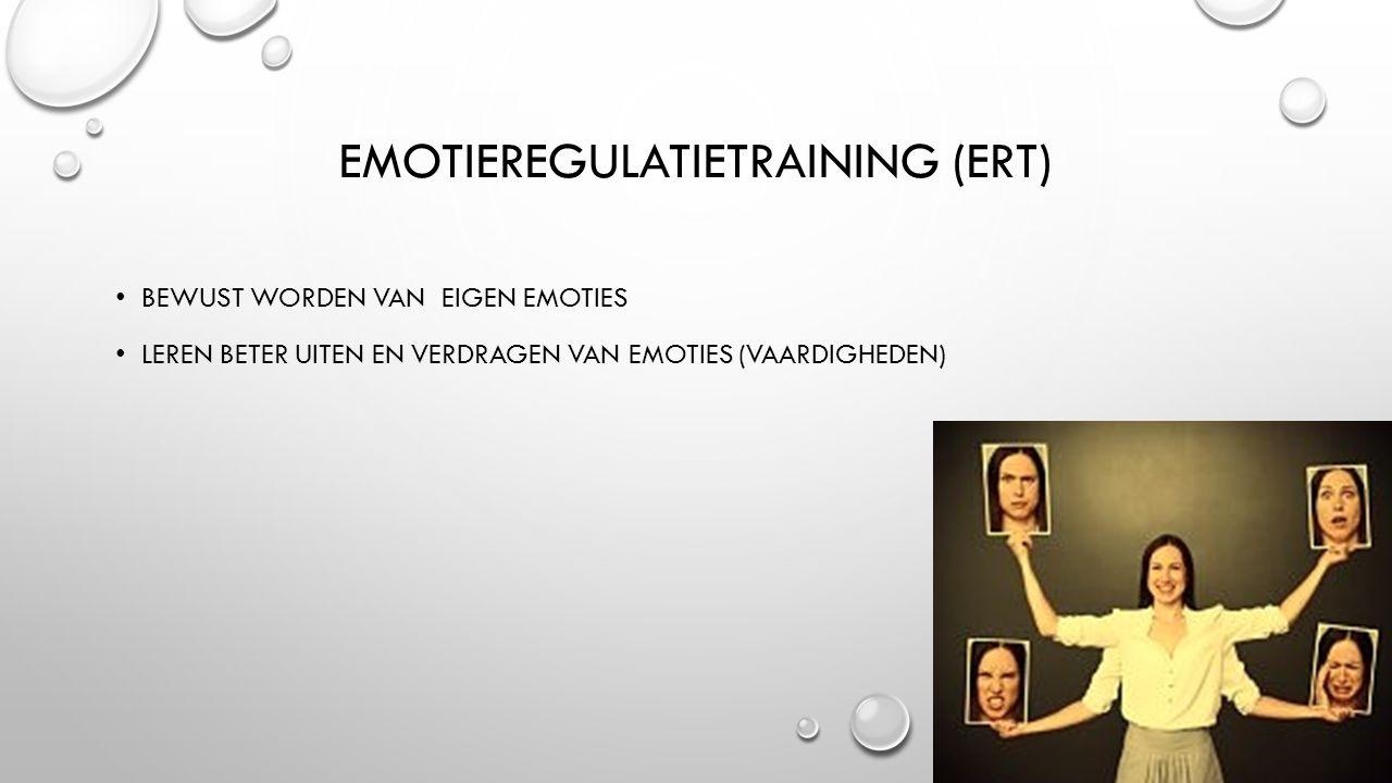 Emotieregulatietraining (ERT)