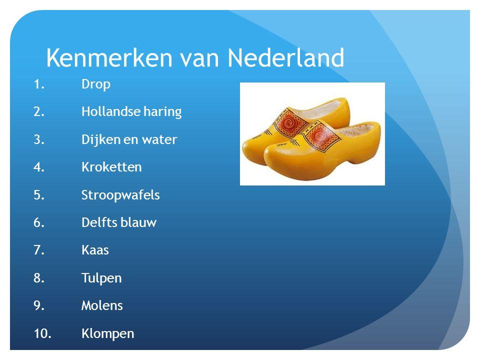 Kenmerken van Nederland