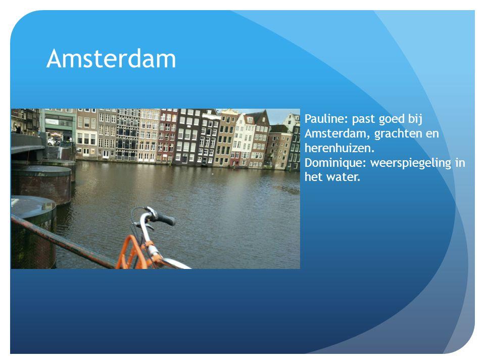Amsterdam Pauline: past goed bij Amsterdam, grachten en herenhuizen.