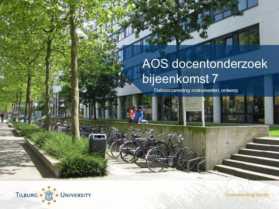 AOS docentonderzoek bijeenkomst 7