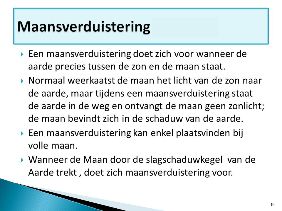 Maansverduistering – cursus pag 9