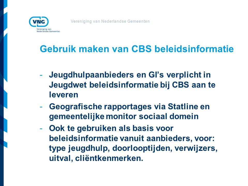 Gebruik maken van CBS beleidsinformatie