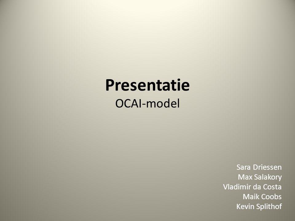Presentatie OCAI-model