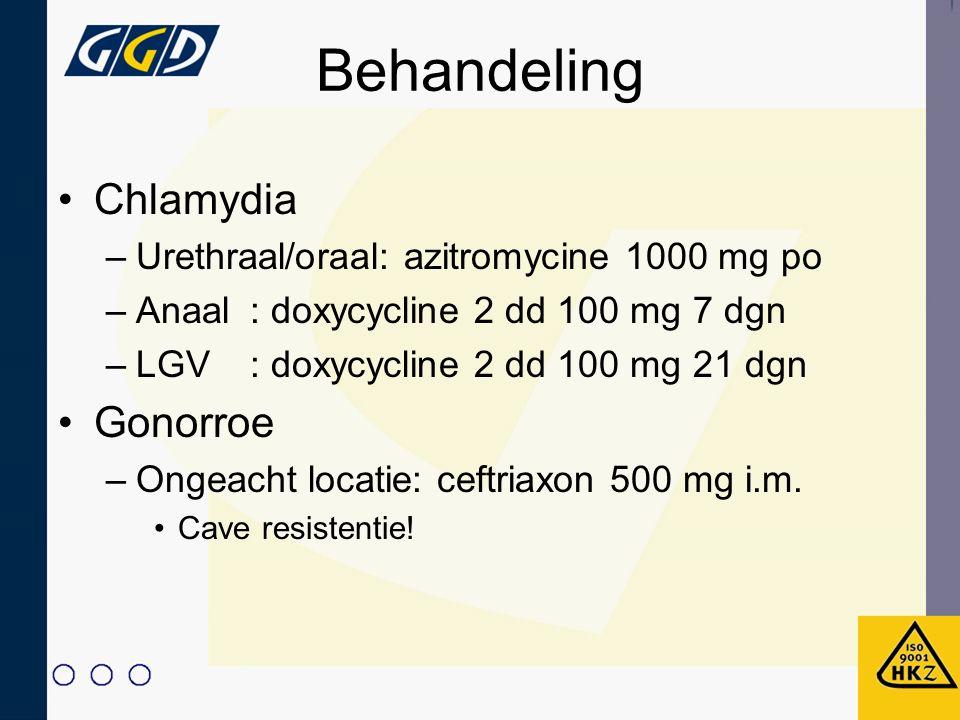 Behandeling Chlamydia Gonorroe