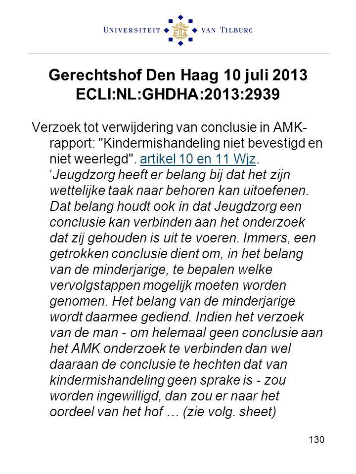 Gerechtshof Den Haag 10 juli 2013 ECLI:NL:GHDHA:2013:2939