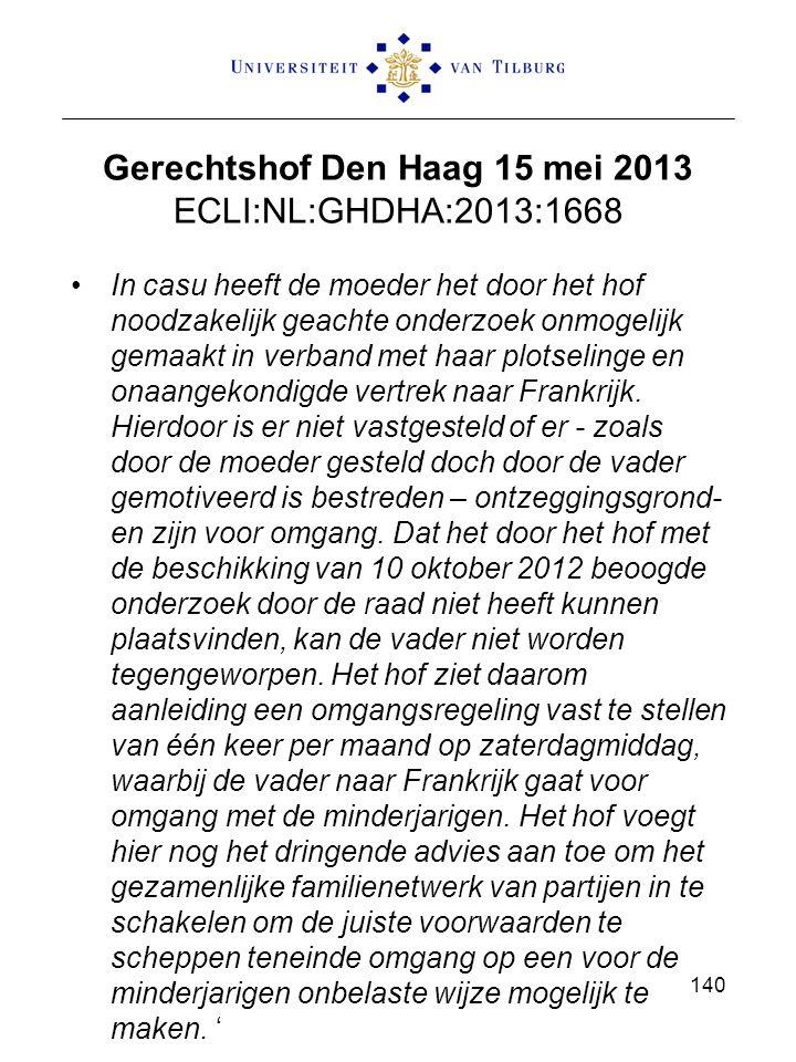 Gerechtshof Den Haag 15 mei 2013 ECLI:NL:GHDHA:2013:1668