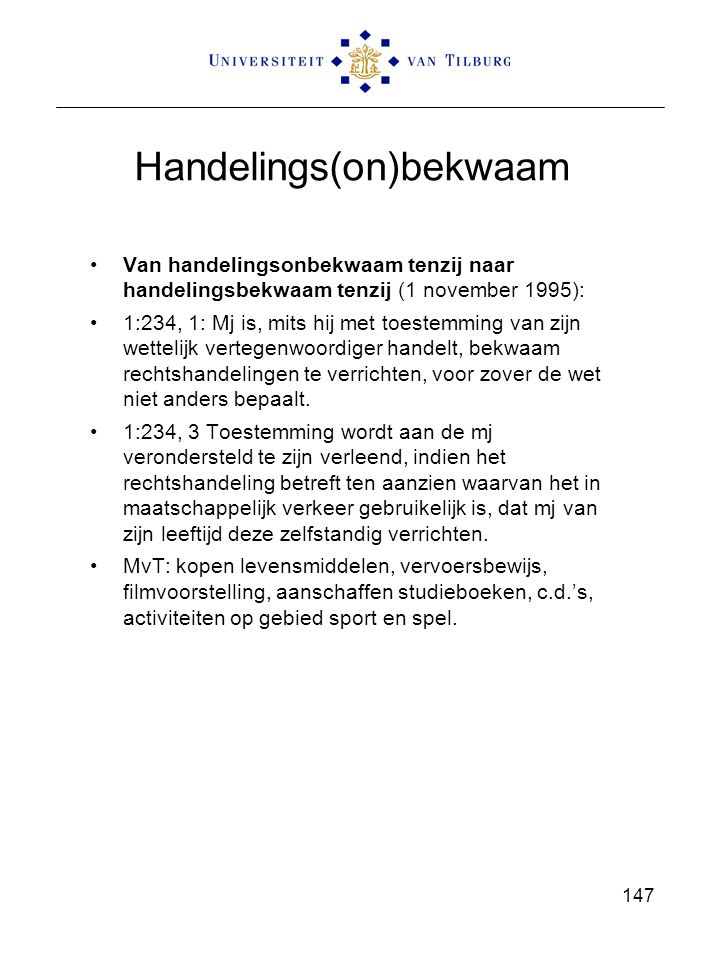 Handelings(on)bekwaam