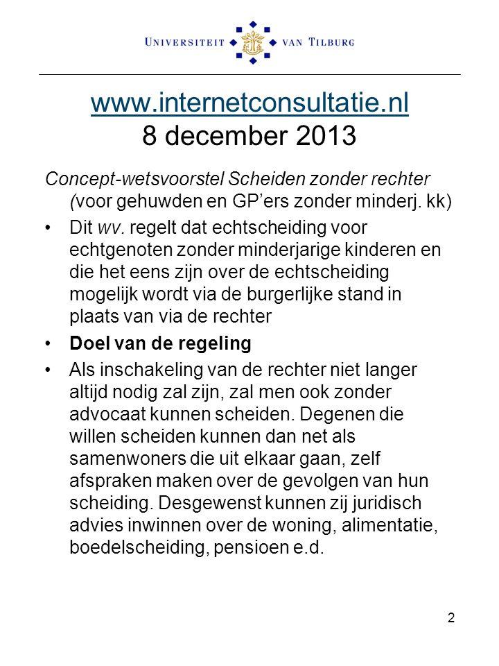 www.internetconsultatie.nl 8 december 2013