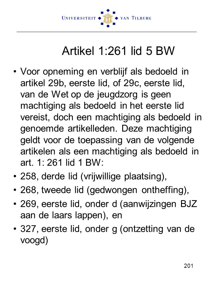 Artikel 1:261 lid 5 BW