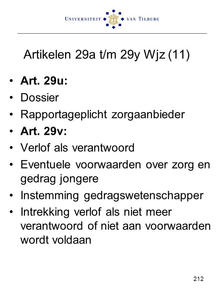 Artikelen 29a t/m 29y Wjz (11) Art. 29u: Dossier