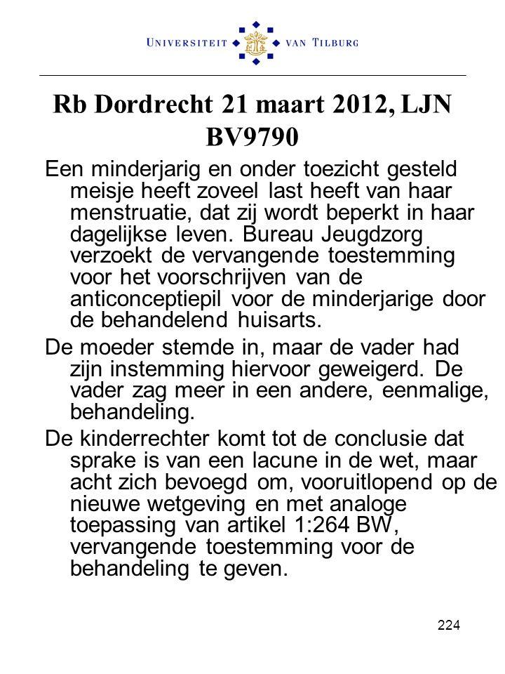 Rb Dordrecht 21 maart 2012, LJN BV9790