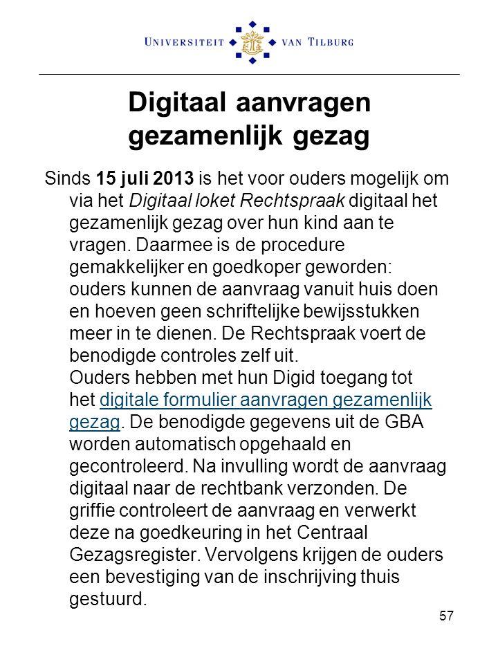 Digitaal aanvragen gezamenlijk gezag