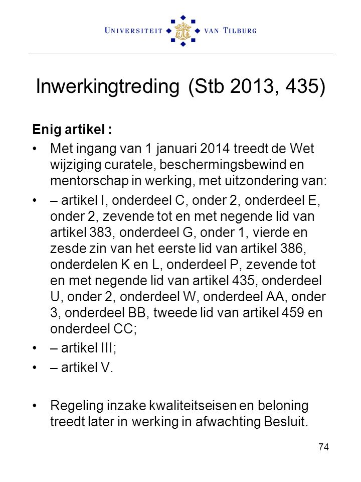 Inwerkingtreding (Stb 2013, 435)