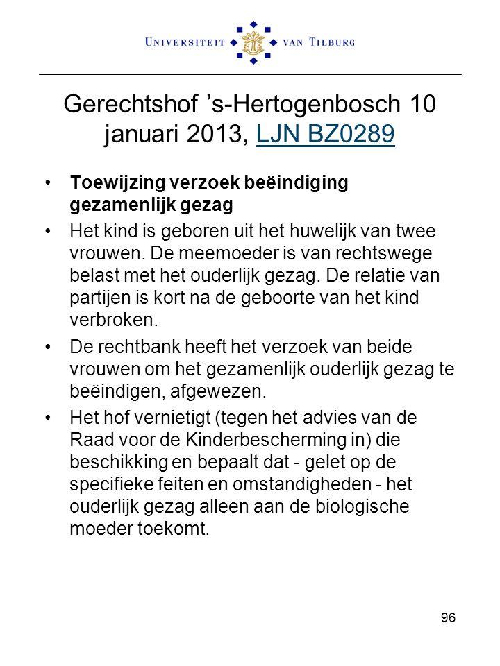 Gerechtshof 's-Hertogenbosch 10 januari 2013, LJN BZ0289