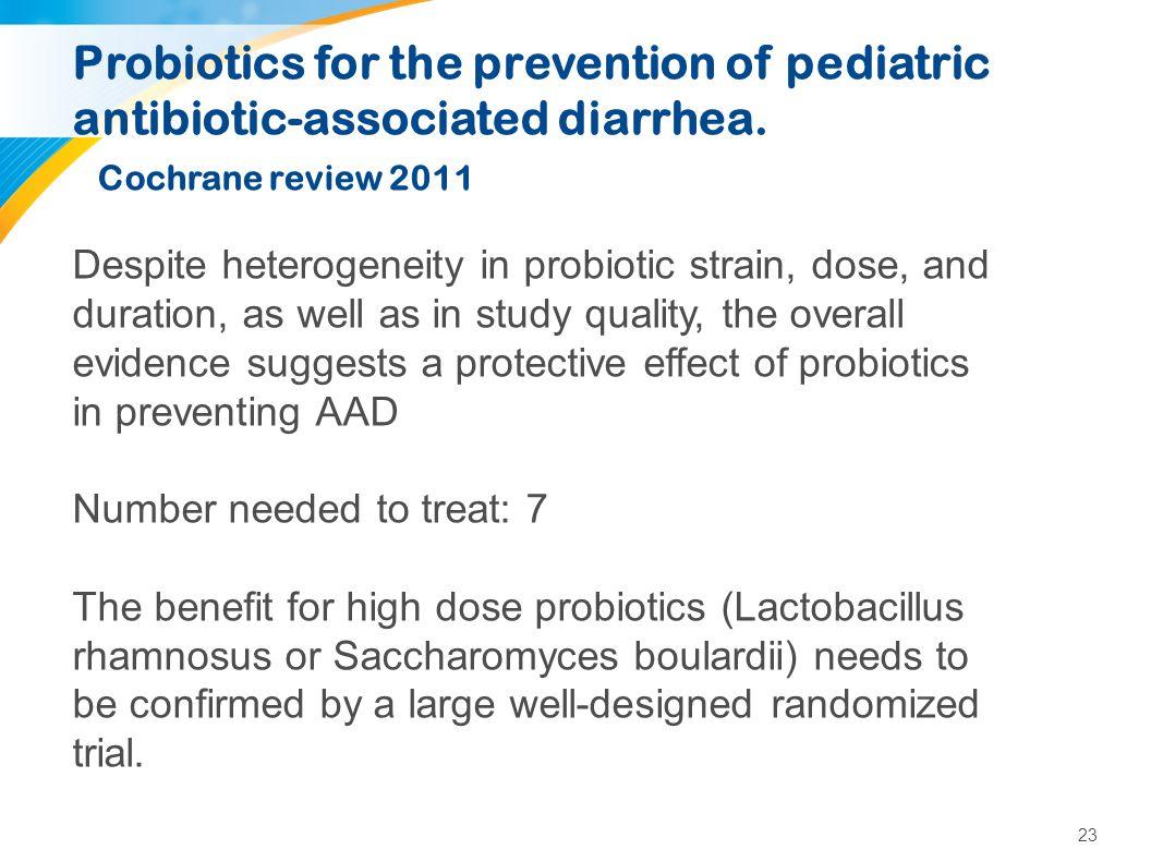 Probiotica: de toekomst