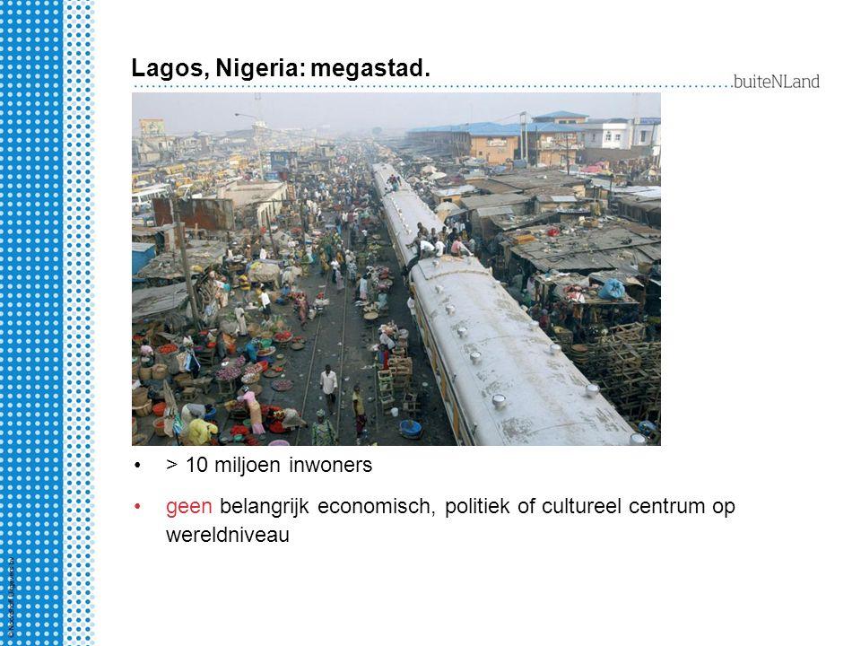 Lagos, Nigeria: megastad.