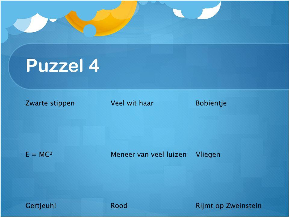 Puzzel 4