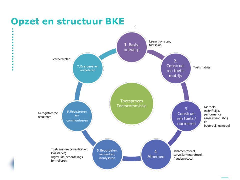 Opzet en structuur BKE tonny