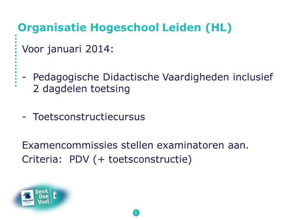 Organisatie Hogeschool Leiden (HL)