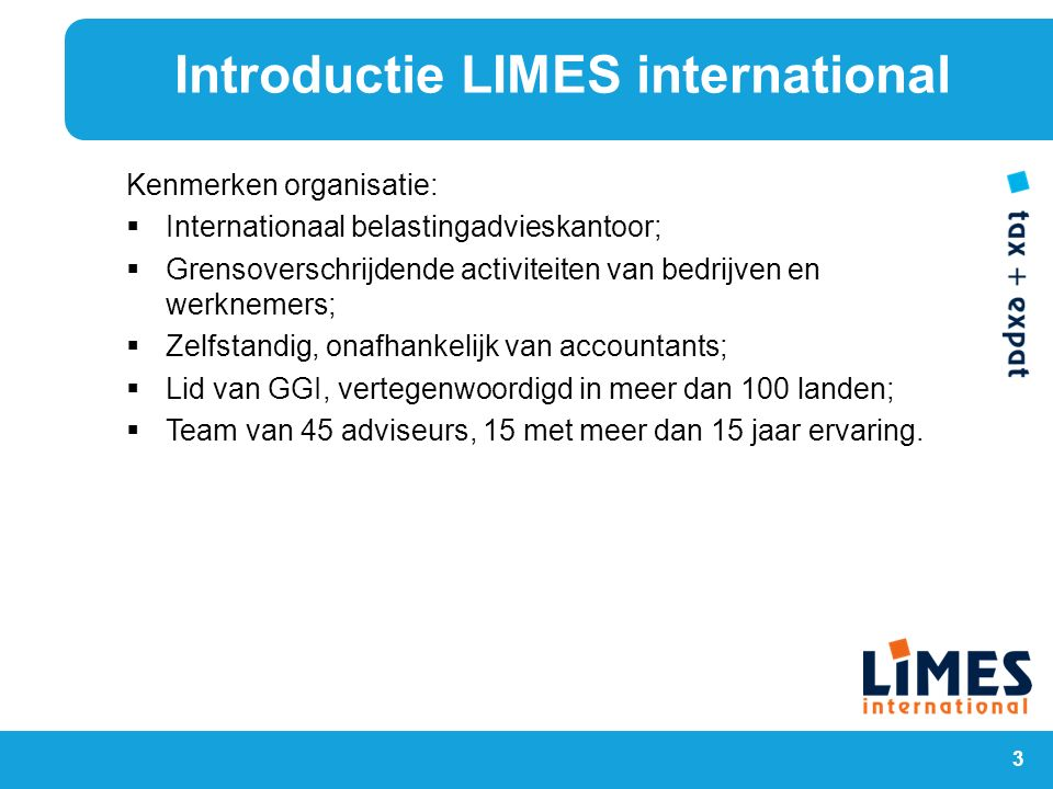 Introductie LIMES international